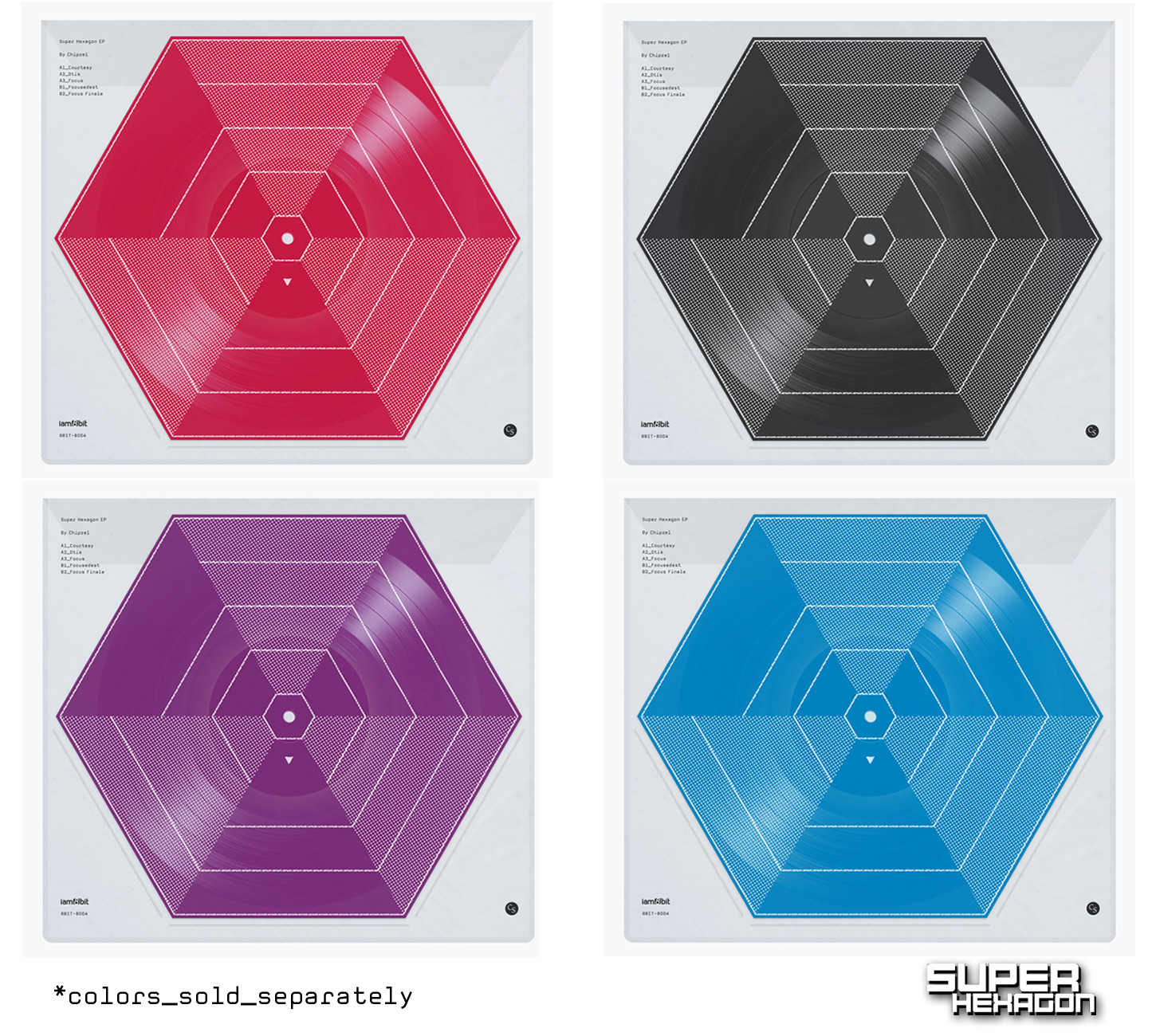 Super Hexagon - Mockup