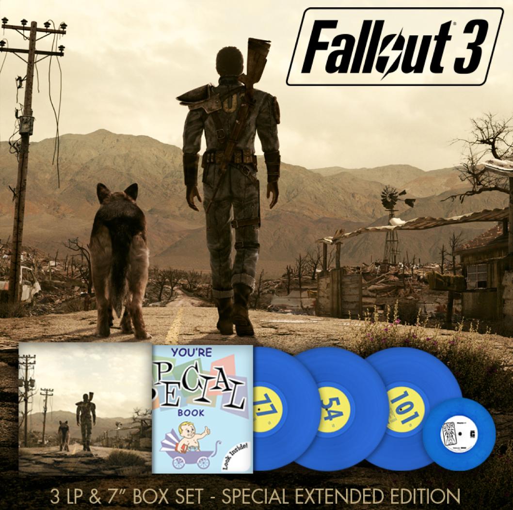 Fallout 3 Slipcase - Mockup