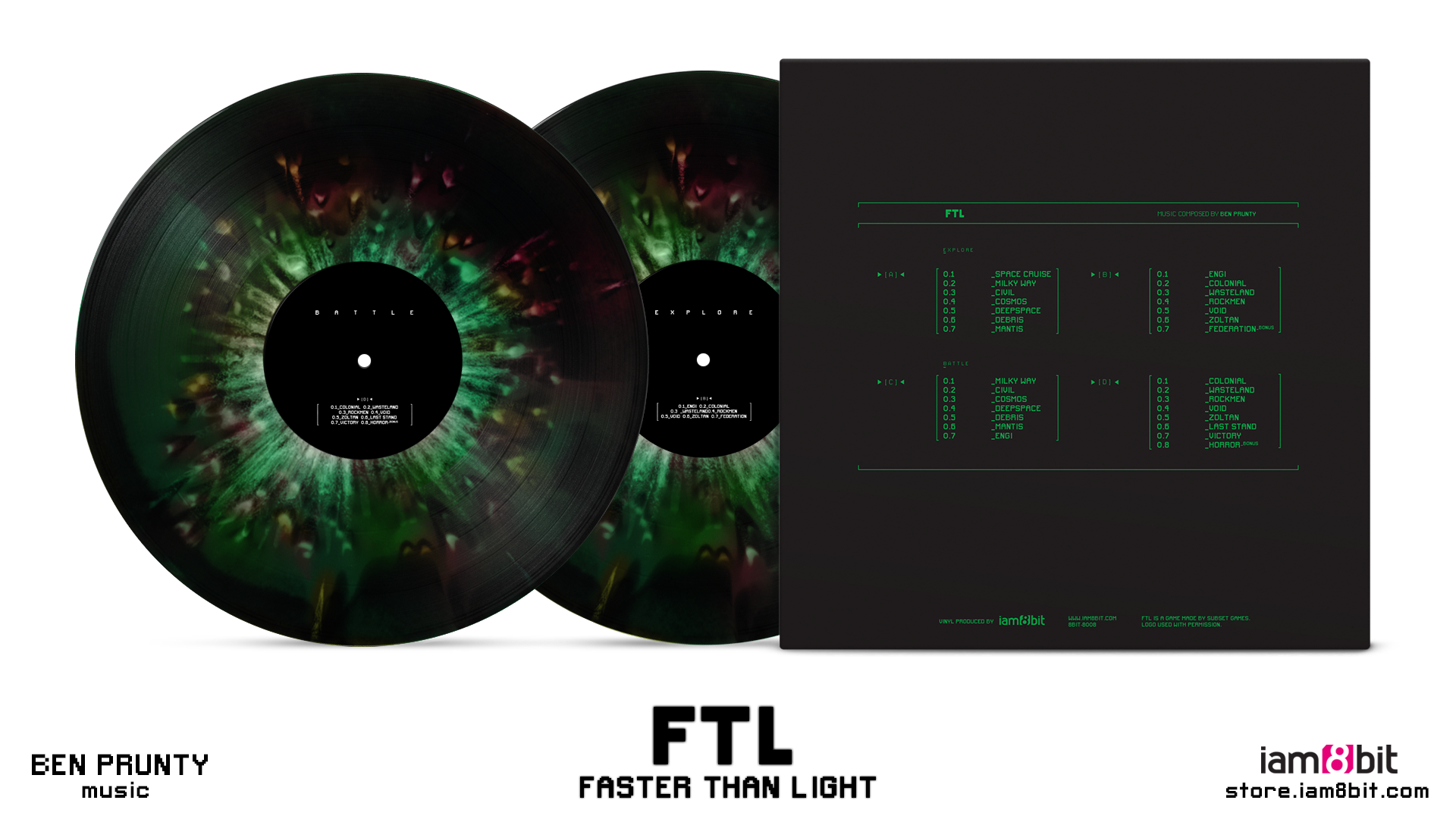 FTL: Faster Than Light - Mockup Back