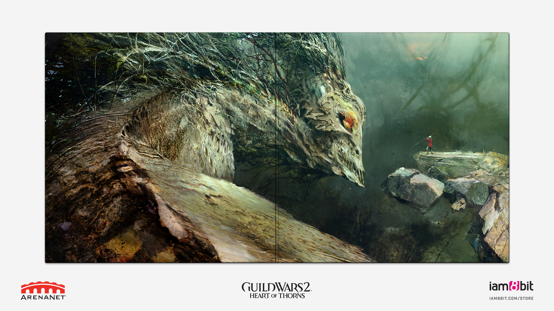 Guild Wars 2: Heart Of Thorns - Mockup Gatefold
