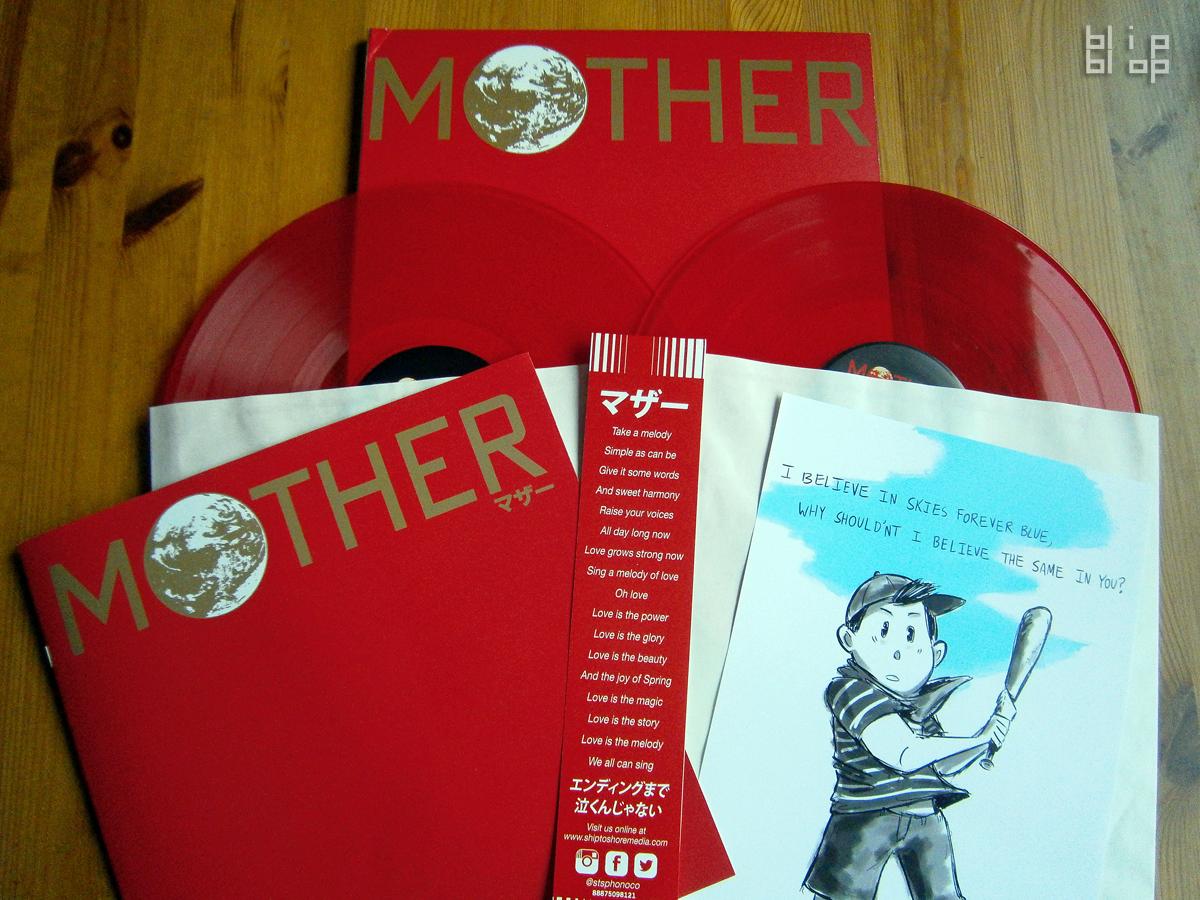 MOTHER - Records, Booklet, OBI + Print