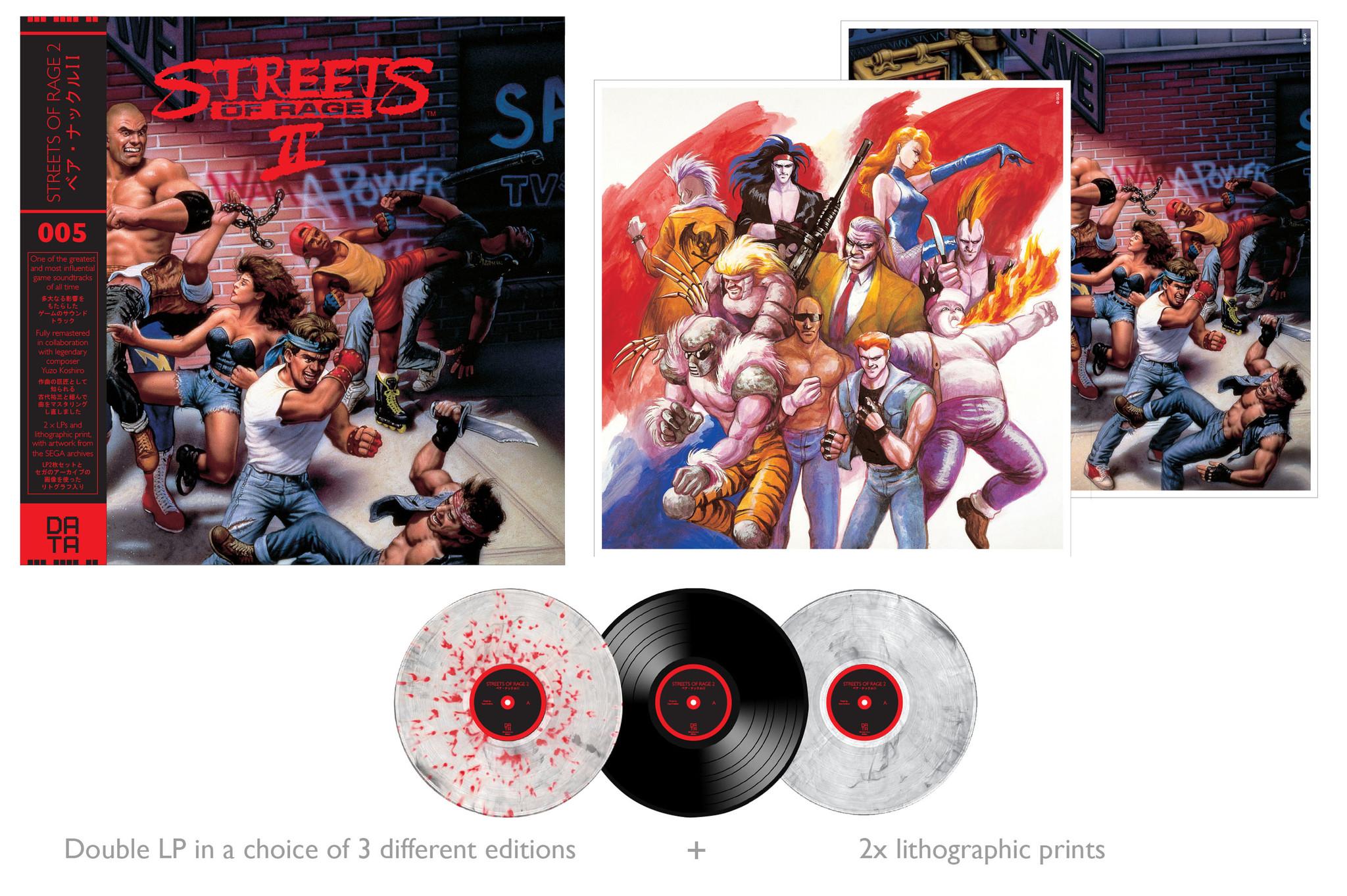 Streets Of Rage 2 - Mockup