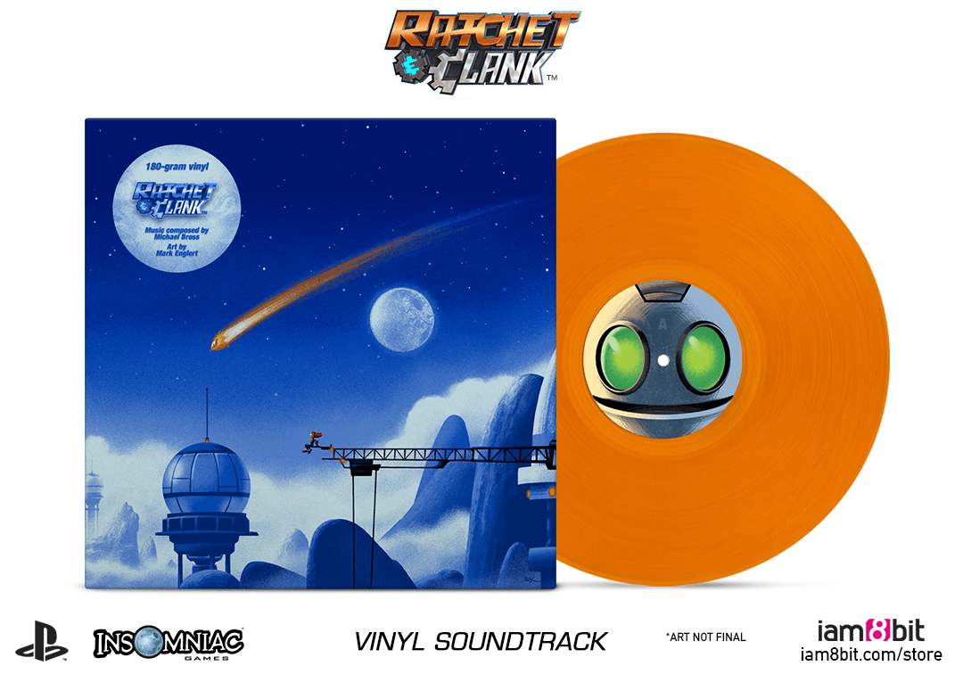 Ratchet & Clank - Mockup Front