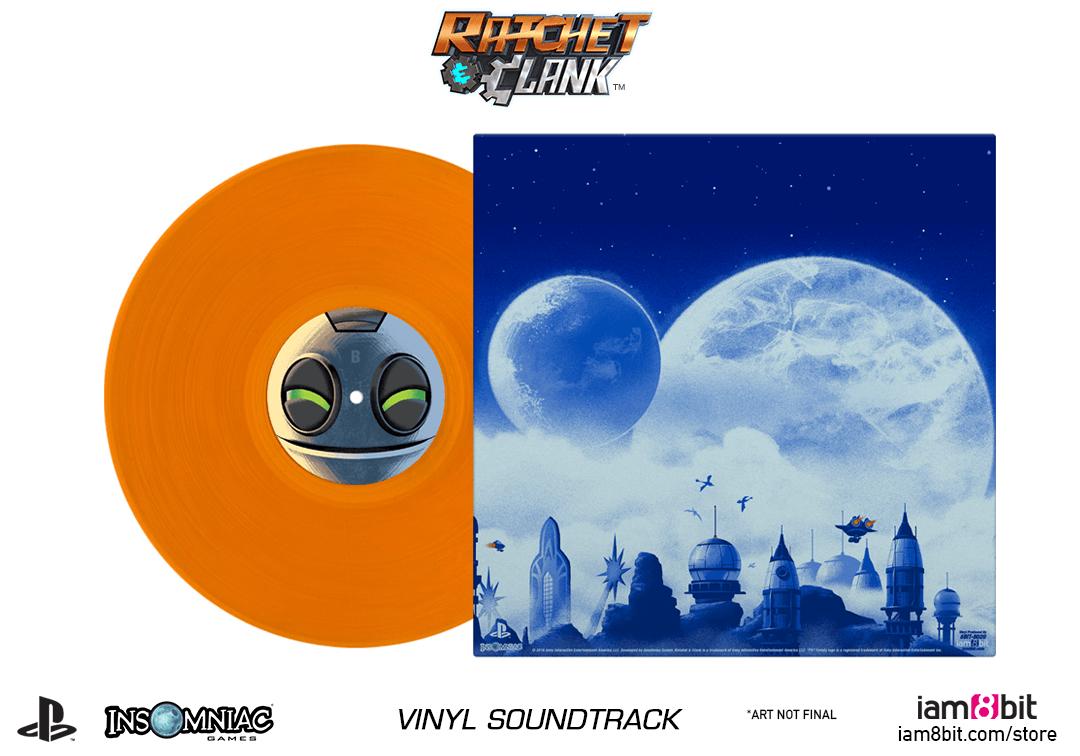 Ratchet & Clank - Mockup Back