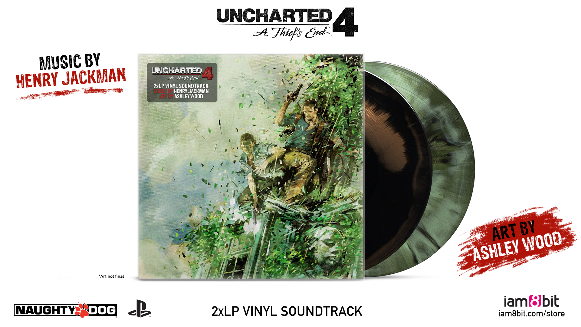 Uncharted 4: A Thief's End - Color Mockup
