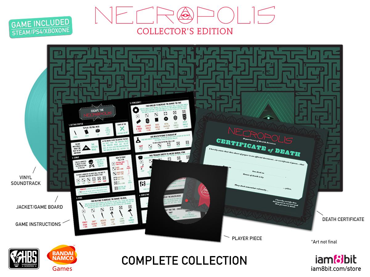 Necropolis - Mockup Contents