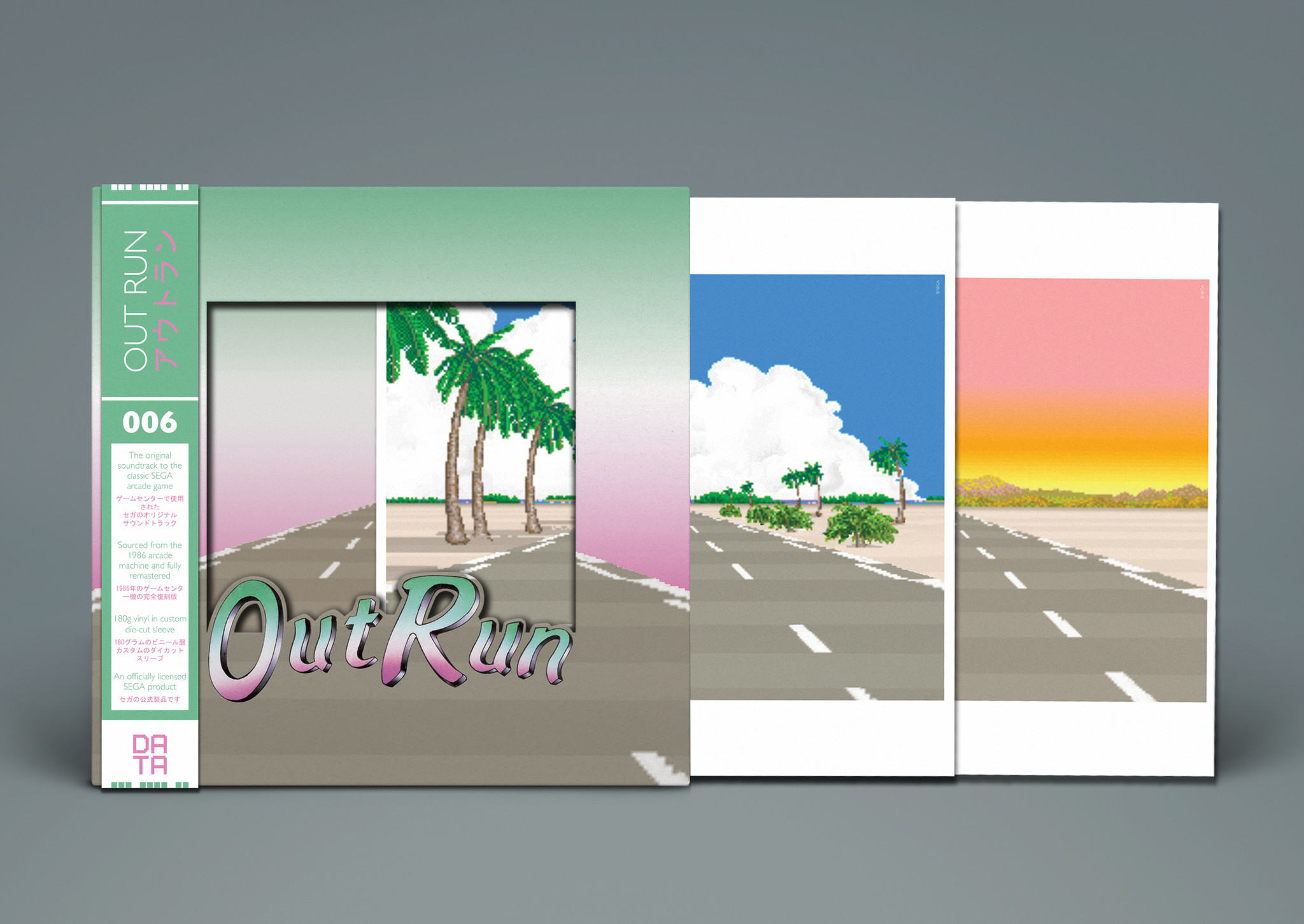 OutRun - Mockup Die-cut