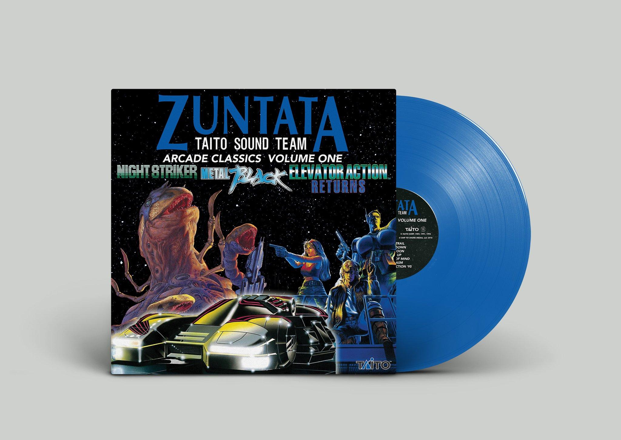 Zuntata Arcade Classics Volume One - Mockup