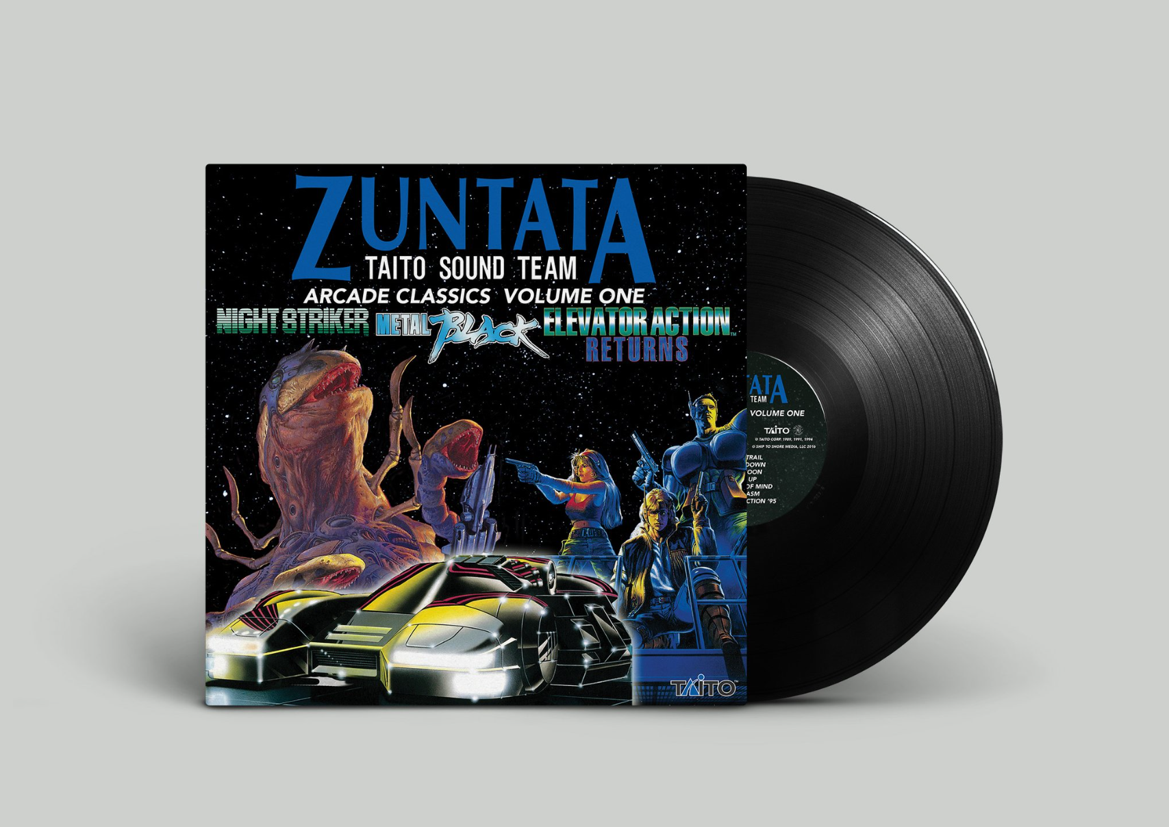 Zuntata Arcade Classics Volume One - Mockup Black