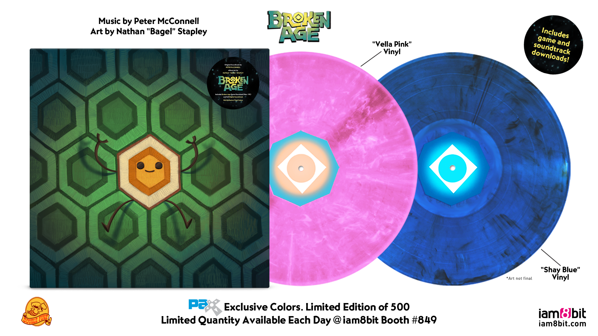 Broken Age - PAX Records MockupBroken Age - PAX Records Mockup