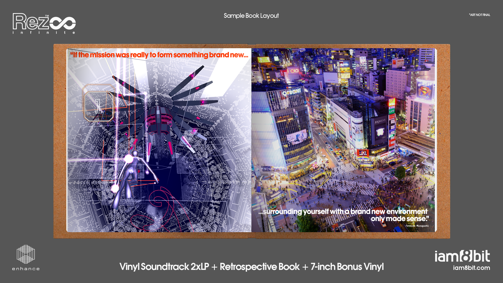 Rez Infinite - Artbook Mockup