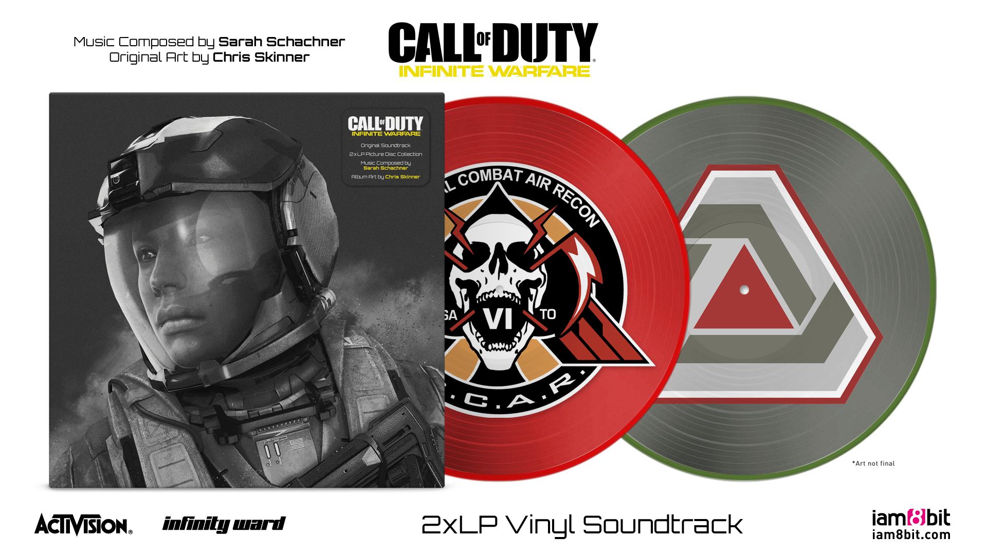 Call Of Duty: Infinite Warfare - Front + Records Mockup