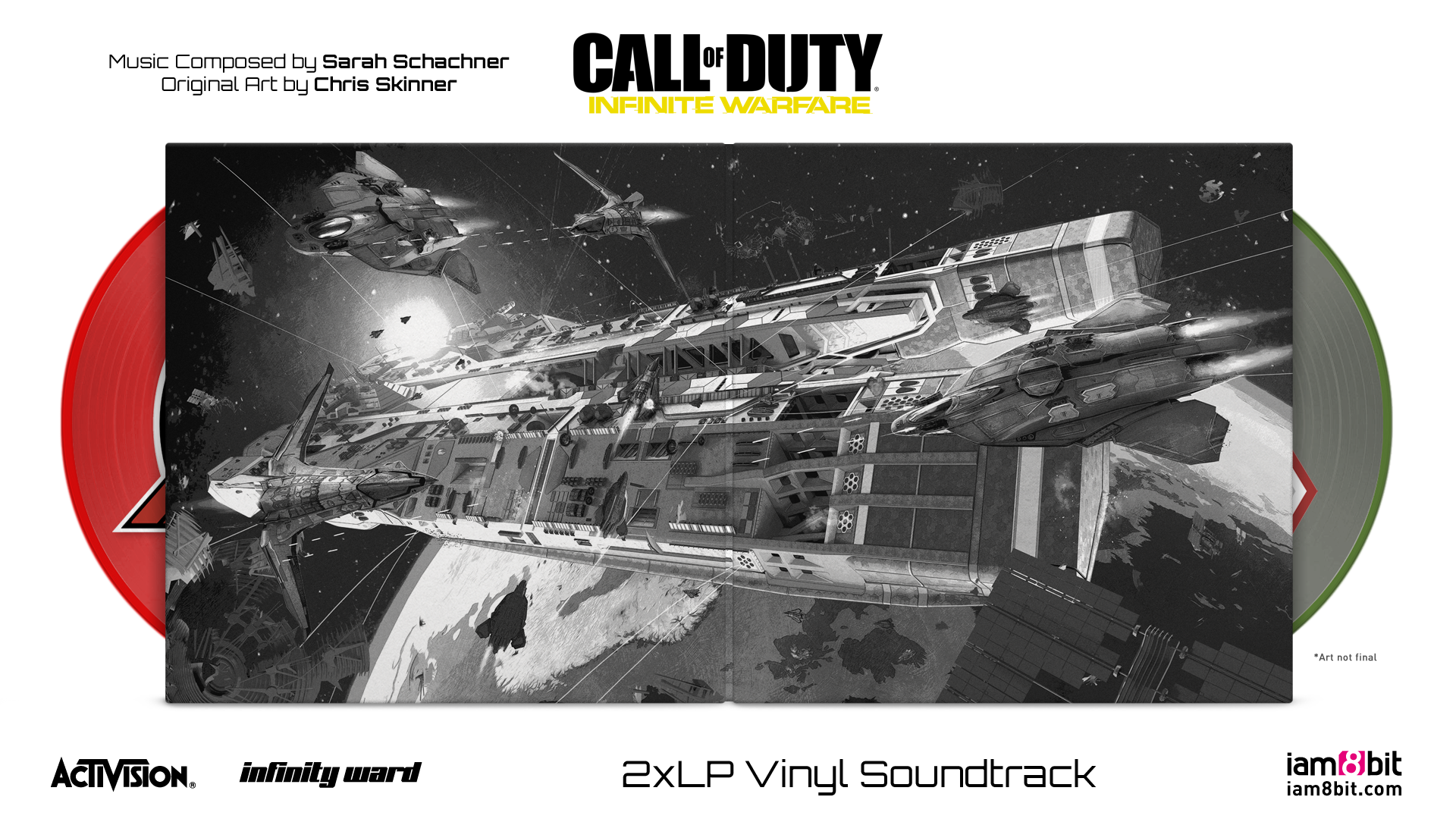 Call Of Duty: Infinite Warfare - Gatefold Mockup