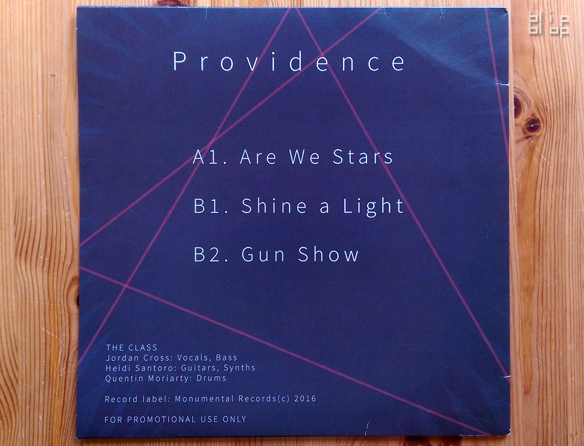 Providence - Back Cover