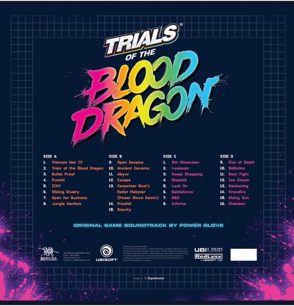 Trials Of The Blood Dragon - Tracklist