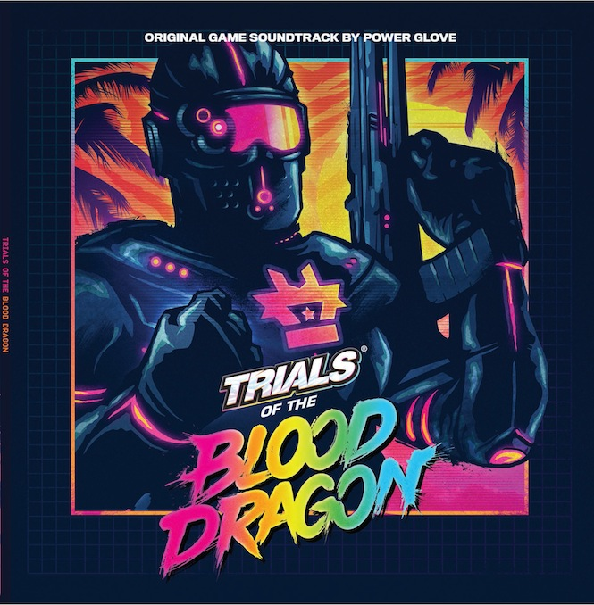 Trials Of The Blood Dragon - Front