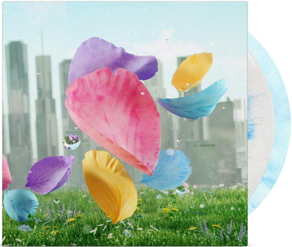 Flower - Front + Vinyl Mockup
