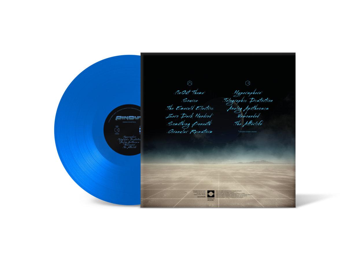 PinOut - Back + Vinyl Mockup