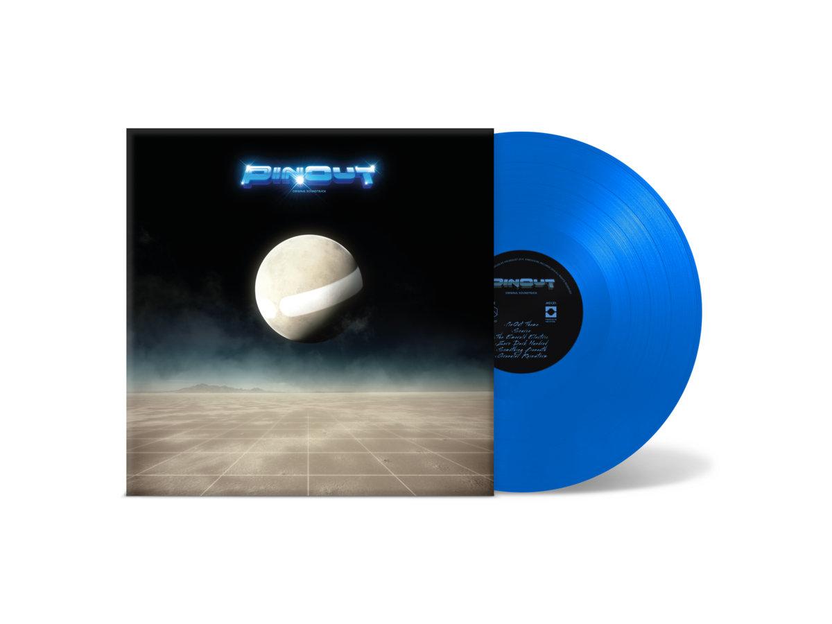 PinOut - Front + Vinyl Mockup