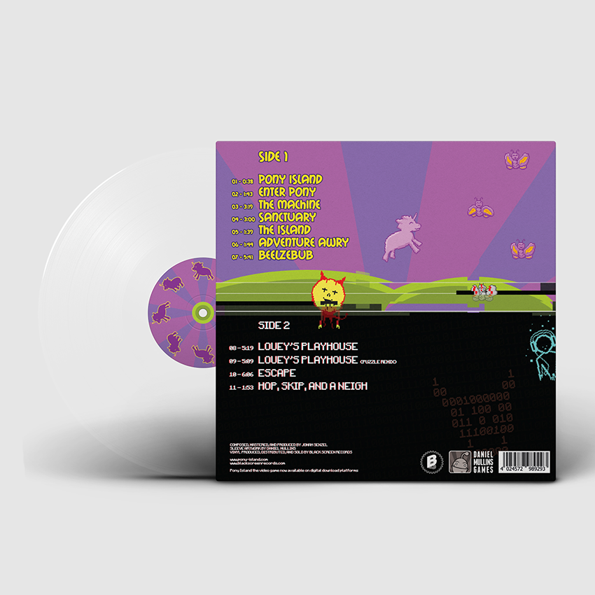 Pony Island - Back + Clear Vinyl