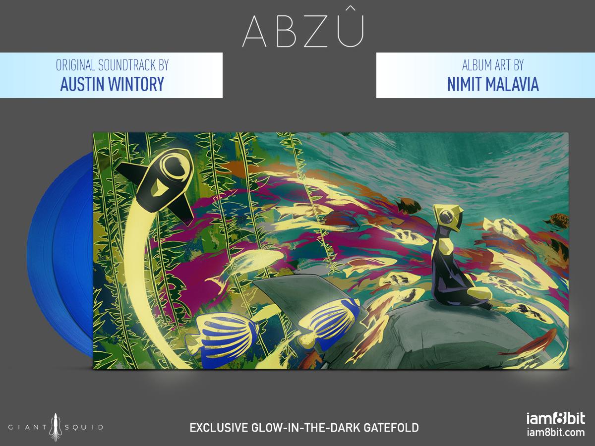 Abzû - Bio Cover Mockup
