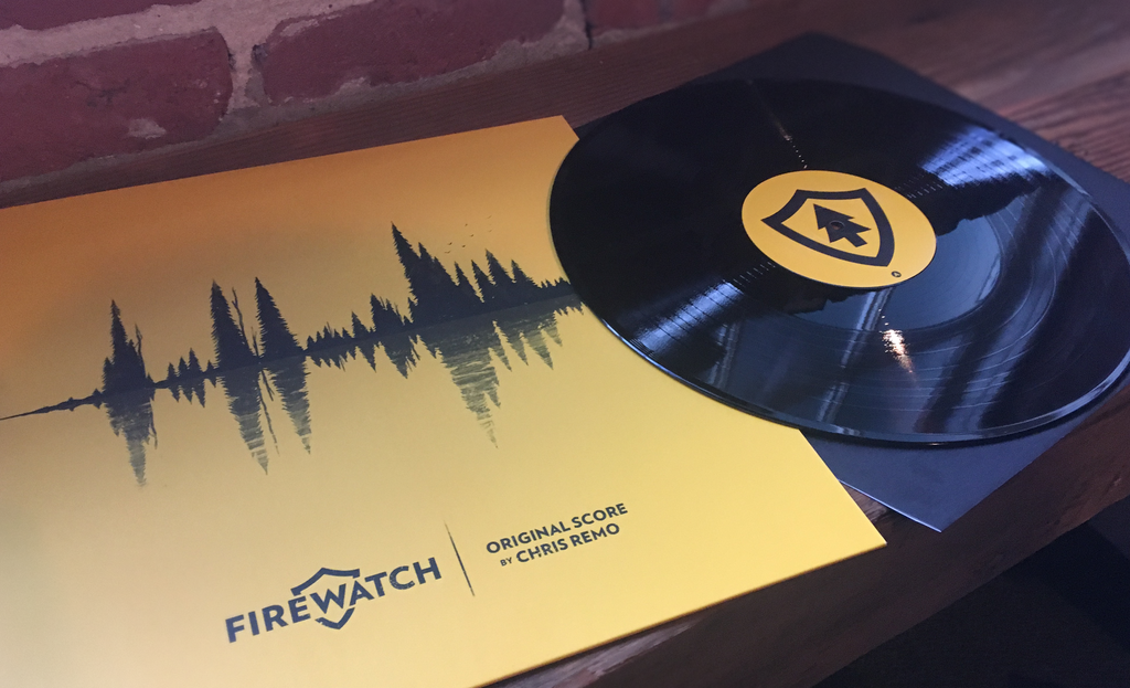 Firewatch - Record + Front Cover