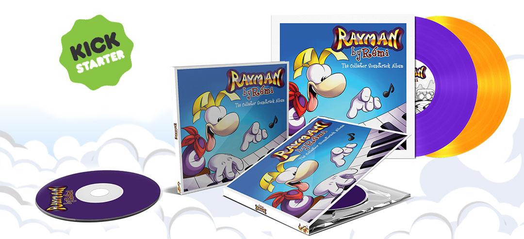 Rayman by Rémi - Mockup