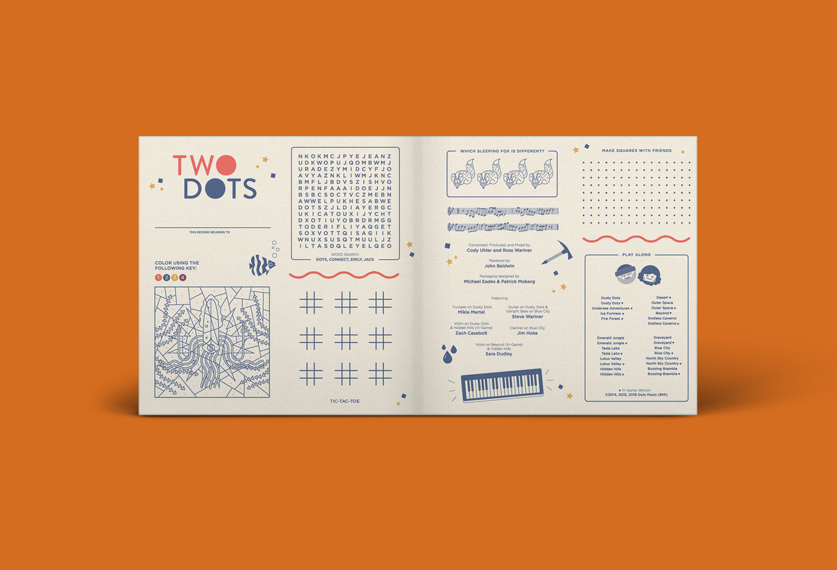 Two Dots - Gatefold Mockup