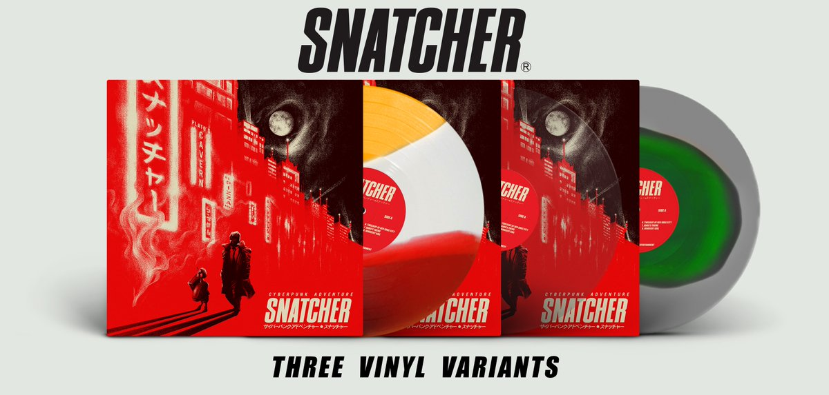 Snatcher - Record Colors Mockup