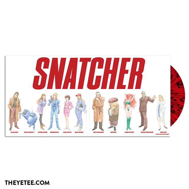 Snatcher - Gatefold Mockup