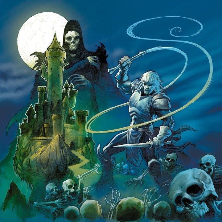 Castlevania II: Simon's Quest - Front Cover