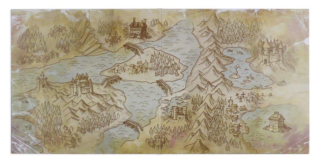 Castlevania II: Simon's Quest - Gatefold Art