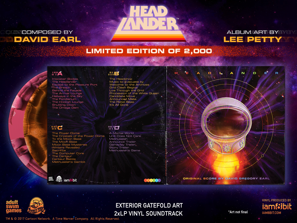 Headlander - Front & Back Cover