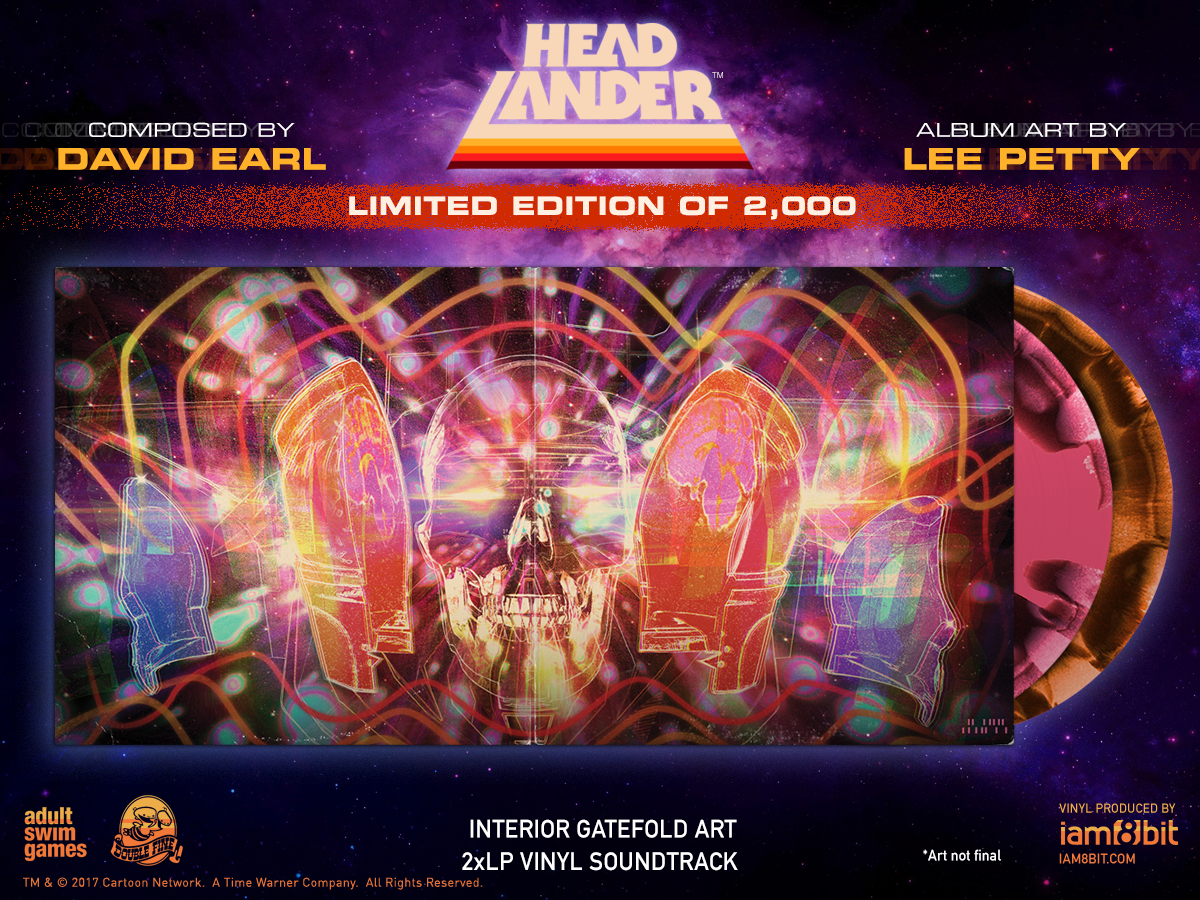 Headlander - Gatefold