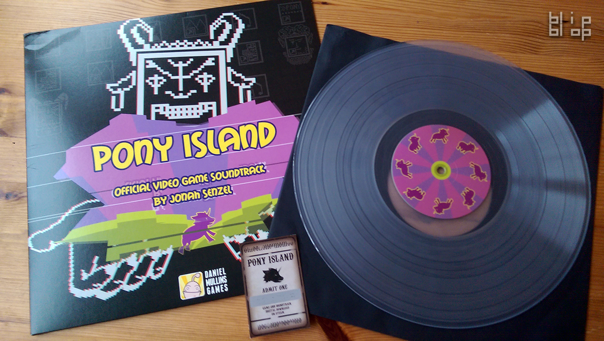 Pony Island - Record & Cover