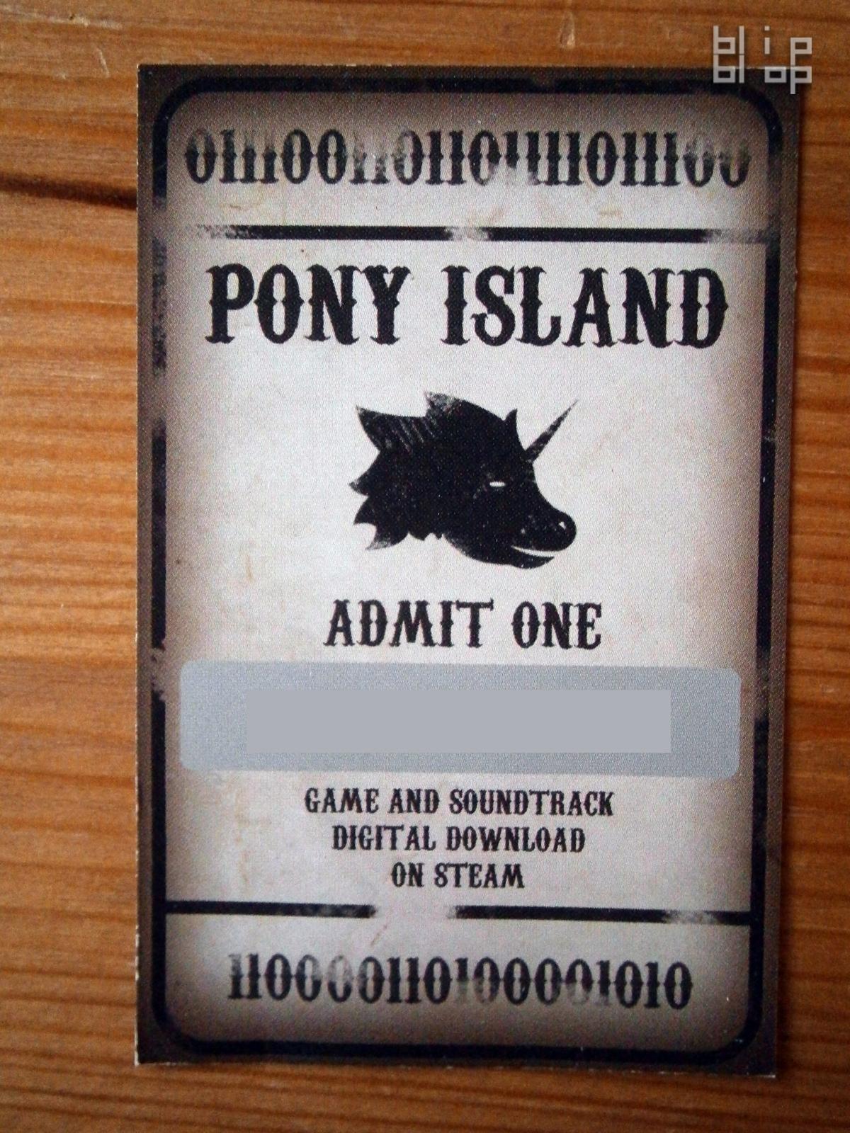 Pony Island - 0111001101101111011100110000110100001010