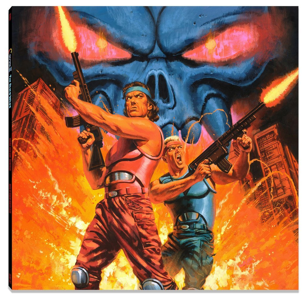 Contra III: The Alien Wars - Front Cover