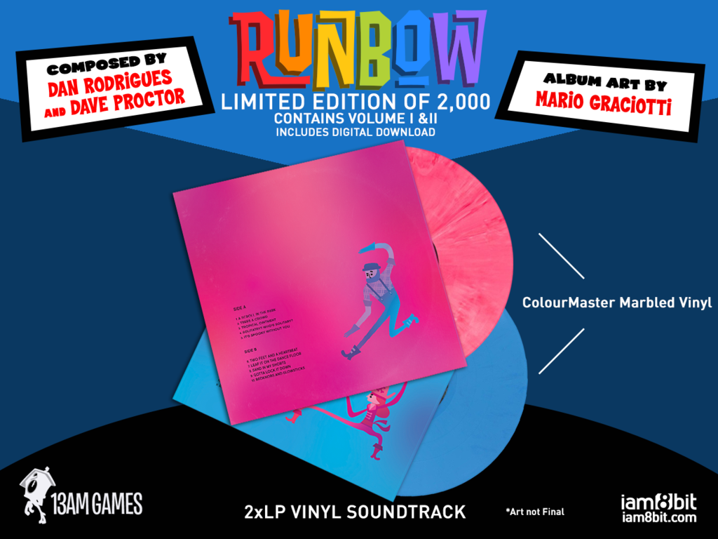 Runbow - Mockup