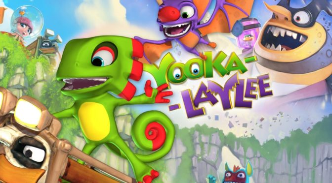Laced Records bringing the Yooka-Laylee soundtrack to vinyl