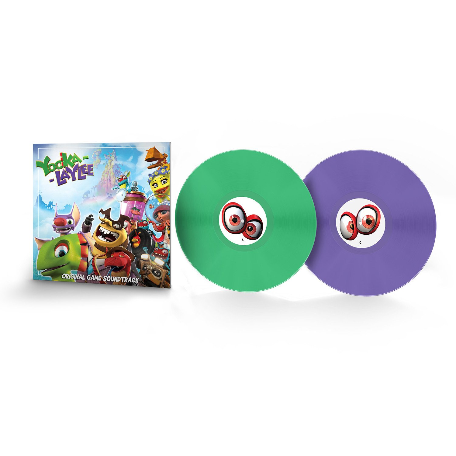 Yooka-Laylee - Front + Records