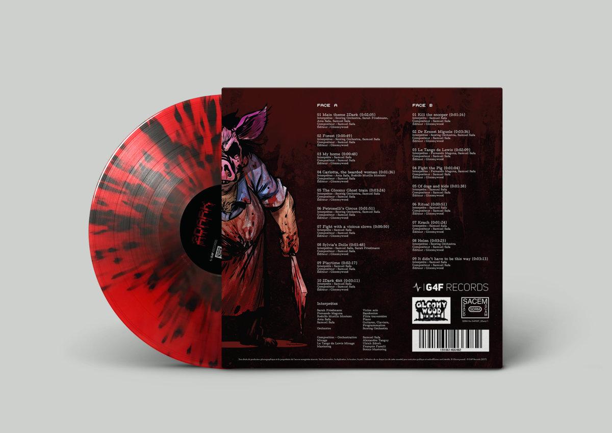 2Dark - Back Cover + Vinyl