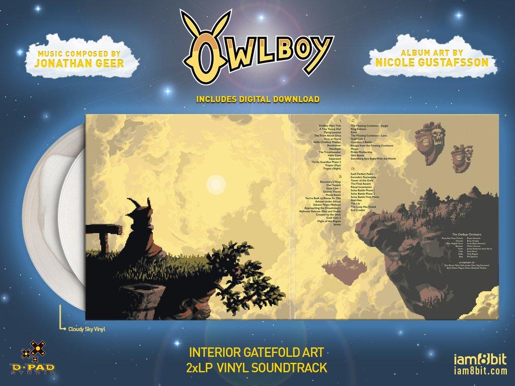 Owlboy - Gatefold