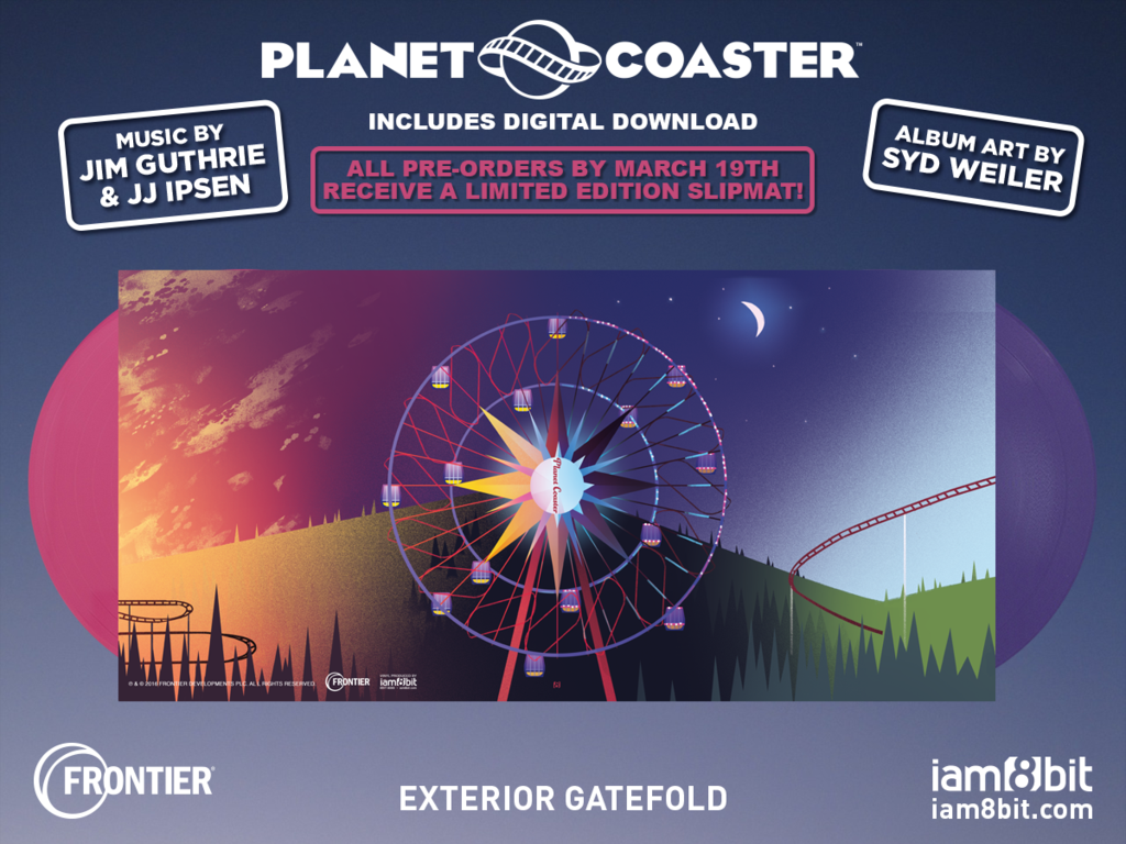 Planet Coaster - Gatefold
