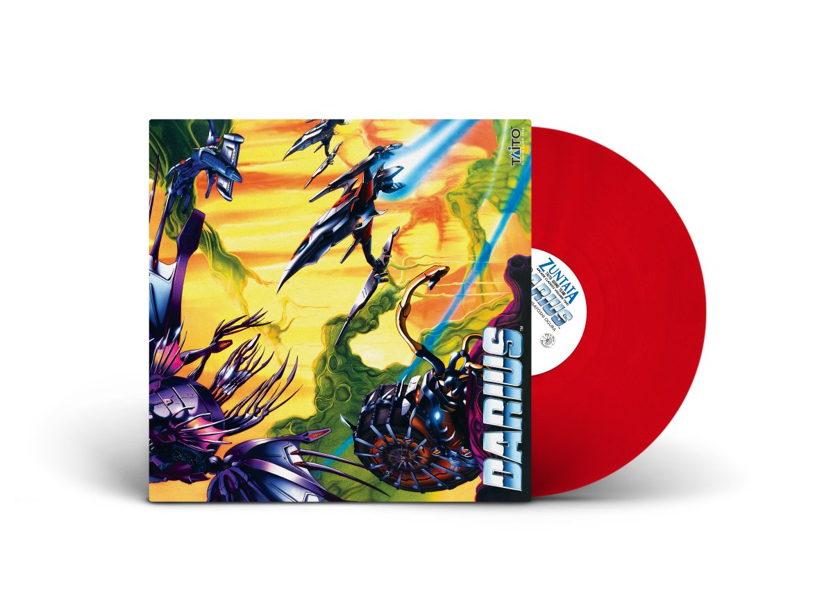 Arcade Classics Volume Two - Darius - Front + Red Vinyl