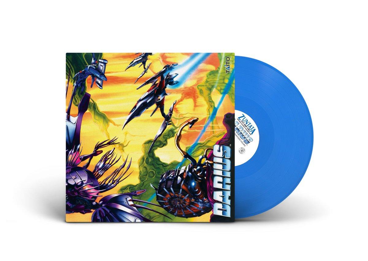 Arcade Classics Volume Two - Darius - Front + Blue Vinyl