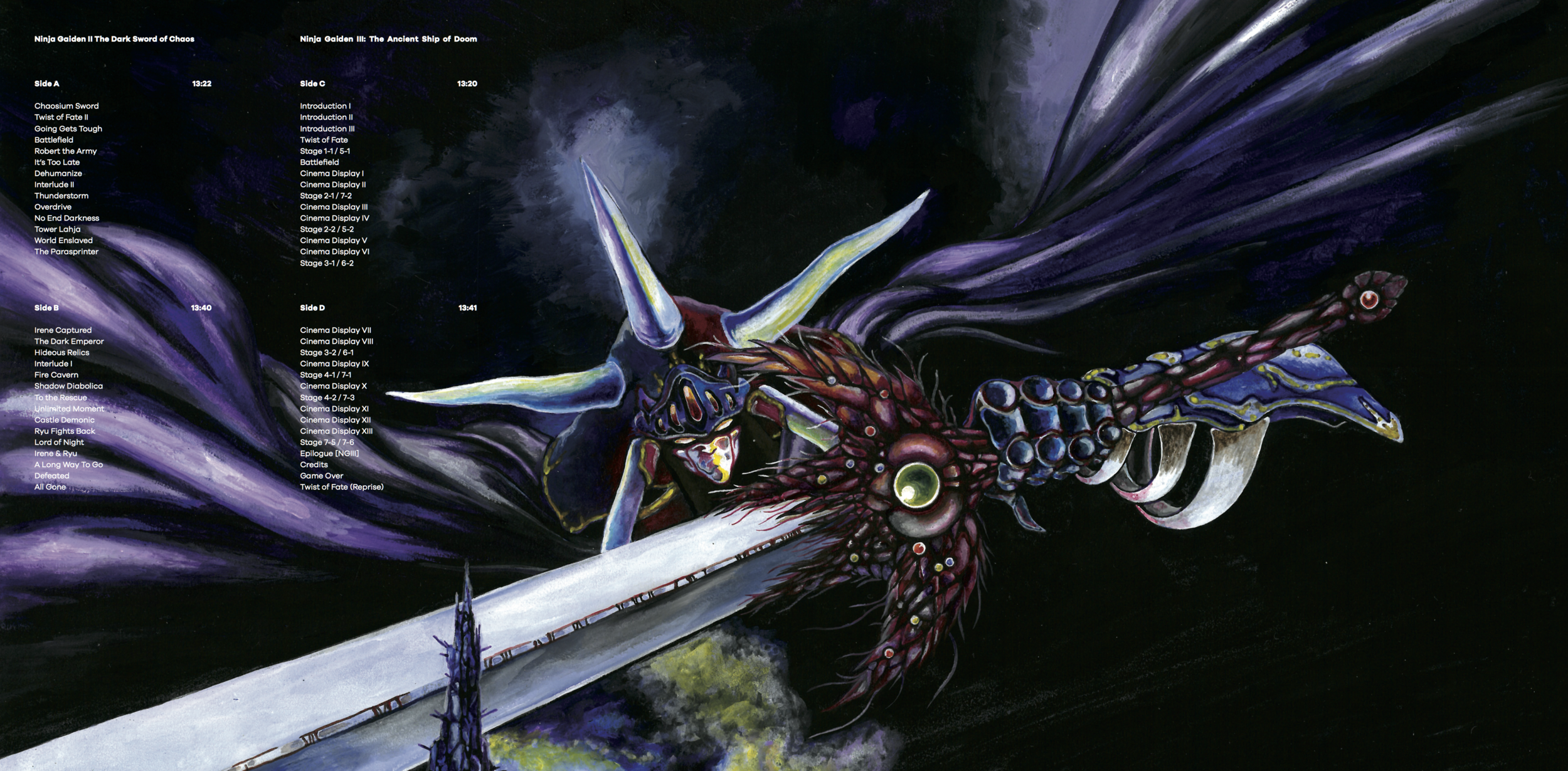 Ninja Gaiden Vol. 2 - Gatefold
