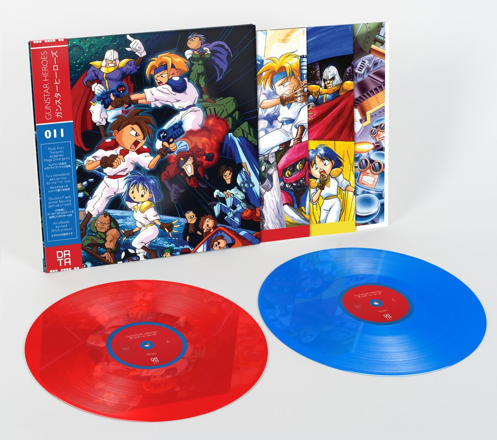 Gunstar Heroes - Red and Blue Vinyl