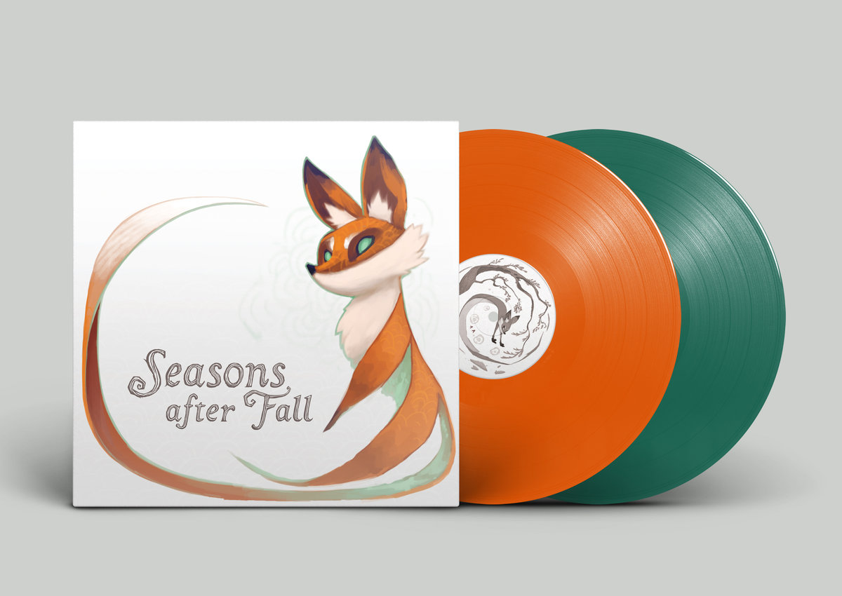 Seasons After Fall - Front Cover + Vinyl