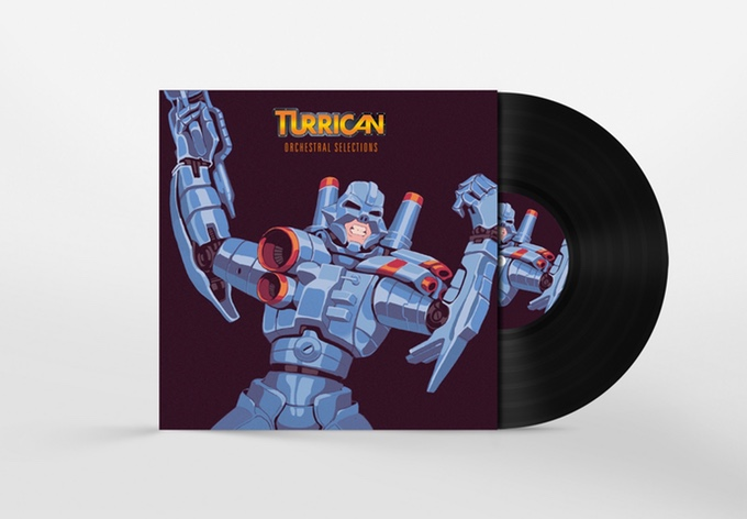 Turrican Orchestral Selections - Mockup