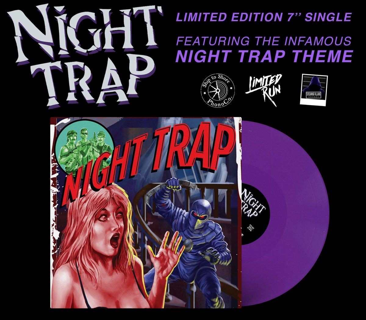 Night Trap - Purple Vinyl